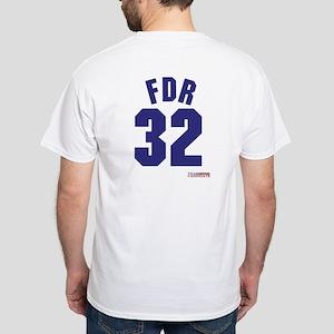 Franklin Delano Roosevelt White T-Shirt