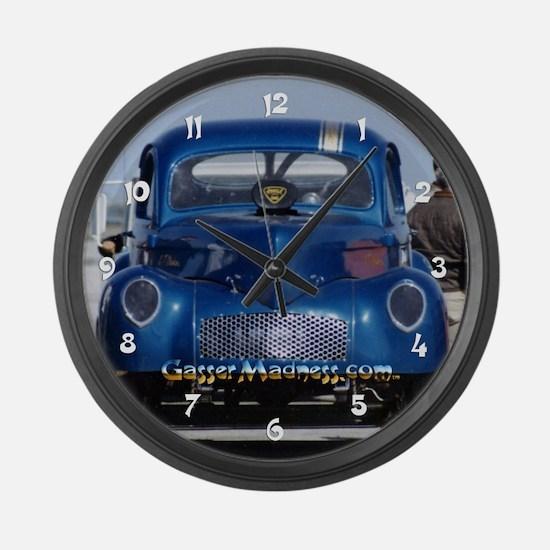 Large GasserMadness Wall Clock