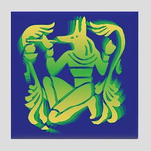 Egyptian Design Tile Coaster