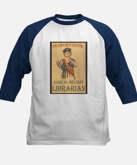 Support Your Radical Militant Librarian Tee