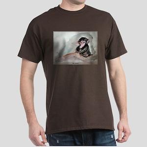 Chimpanzee! art, Dark T-Shirt
