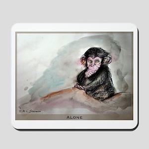 Chimpanzee! art, Mousepad