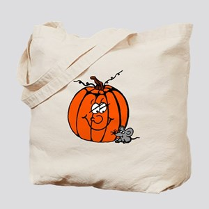 Pumpkin & Mouse Tote Bag