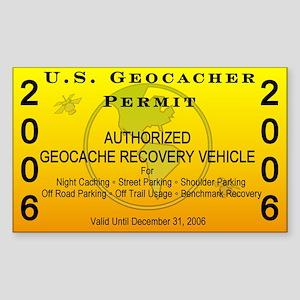 2006 Geocacher Permit