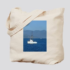 Fishing Boat in San Francisco Tote Bag