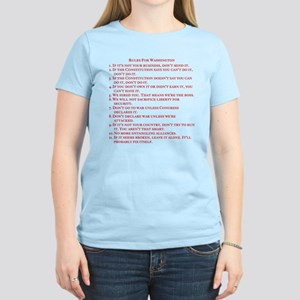 "Women's ""The Rules"" T-Shirt"