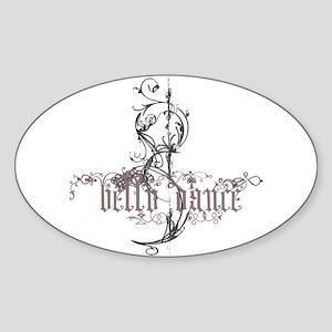Belly Dance Sticker (Oval )