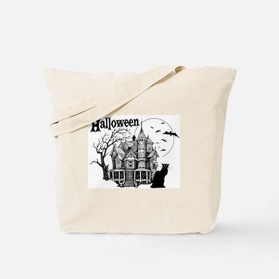 Haunted House - Tote Bag