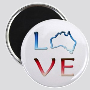LOVE Australia Magnet