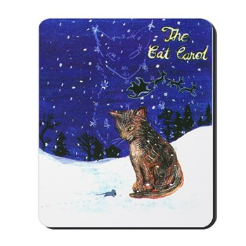 Cat Carol Mousepad