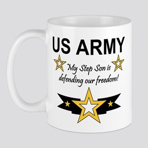 Army Step Son Defending Mug