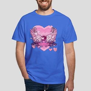 Twilight Valentine Heart Wings Dark T-Shirt
