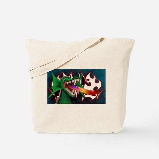 Cute Fire guy Tote Bag