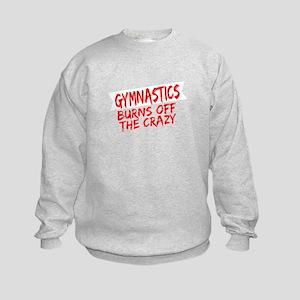 Gymnast Gift Gymnastics Burns Off the C Sweatshirt