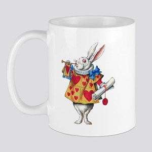 ALICE'S WHITE RABBIT Mug