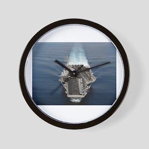 USS Ronald Reagan Ship's Image Wall Clock