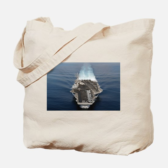USS Ronald Reagan Ship's Image Tote Bag