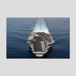 USS Ronald Reagan Ship's Image Mini Poster Print