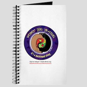 Wiener Dog Yin-Yang Journal