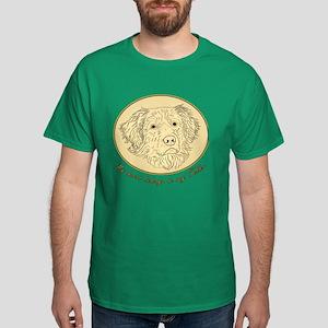 Toller Heart Dark T-Shirt
