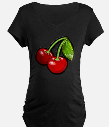 cherries Maternity T-Shirt