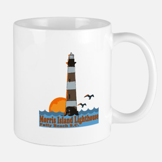 Morris Island Lighthouse SC Mug