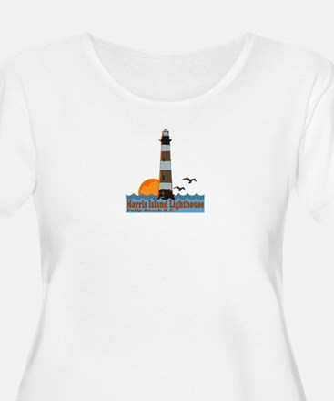 Morris Island Lighthouse SC T-Shirt
