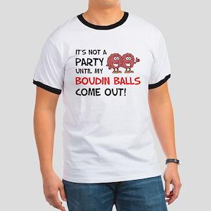Party Until Boudin Balls T-Shirt