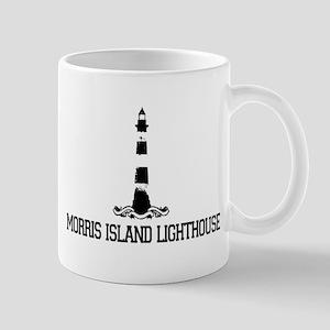Morris Island Lighthouse SC Mug
