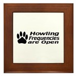 Howlin' Frequencies are Open Framed Tile