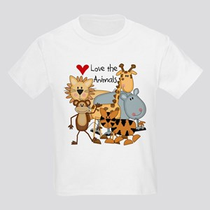 Love the Animals Kids Light T-Shirt