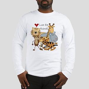Love the Animals Long Sleeve T-Shirt