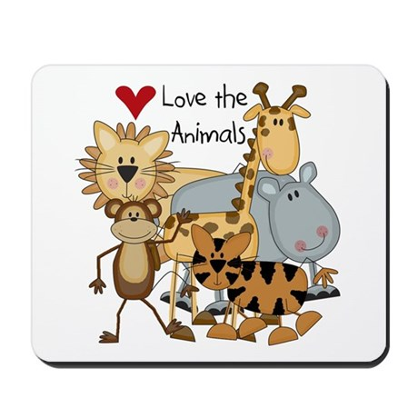 Love the Animals Mousepad