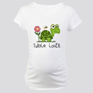 Turtle Lover Maternity T-Shirt