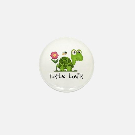 Turtle Lover Mini Button