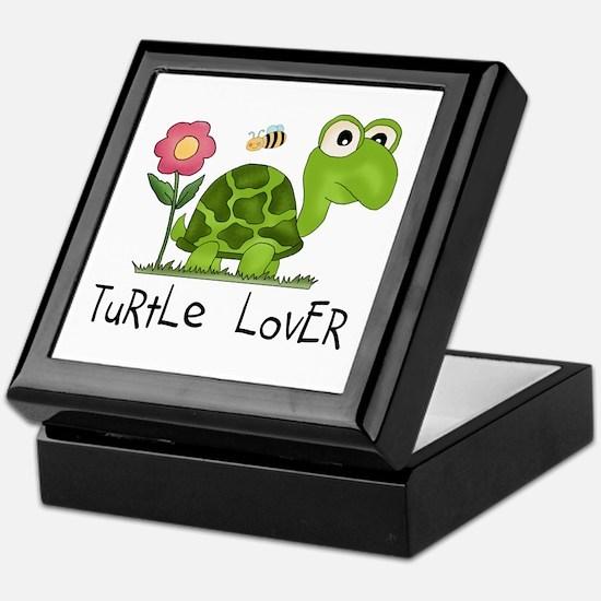 Turtle Lover Keepsake Box