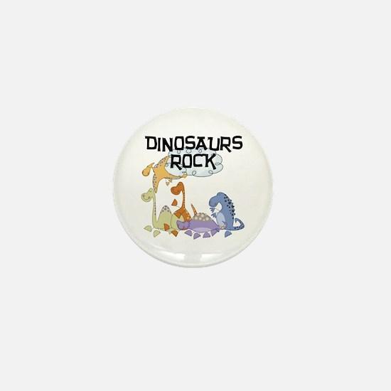 Dinosaurs Rock Mini Button