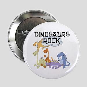 "Dinosaurs Rock 2.25"" Button"