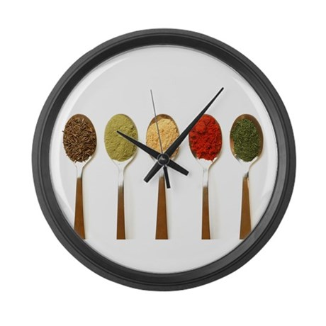 Spice Large Wall Clock
