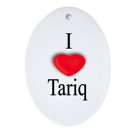 Tariq Oval Ornament