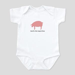 Funny Swine Vengeance Infant Bodysuit