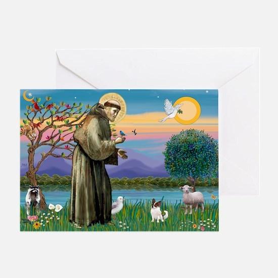 StFran./Chihuahua (LH) Greeting Card