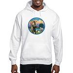 StFran./Chihuahua (LH) Hooded Sweatshirt
