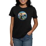 StFran./Chihuahua (LH) Women's Dark T-Shirt