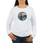 StFran./Chihuahua (LH) Women's Long Sleeve T-Shirt
