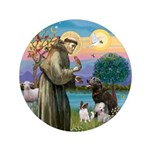 St Francis/3 dogs 3.5