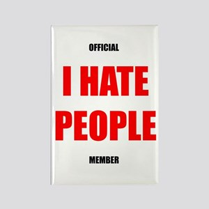 Original I HATE PEOPLE magnet
