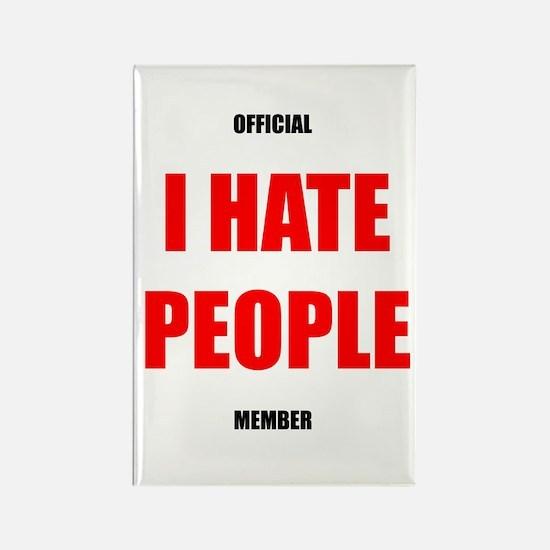 Original I HATE PEOPLE magnet