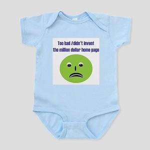 No Million Dollar Infant Bodysuit