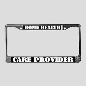 Home Healthcare Provider License Frame